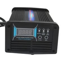 12V 10A/15A/20A 3 in 1 Current Switchable Car Battery Charger Maintainer & Desulfator 7-stage Smart Charger for 40-240AH Battery ordinary battery charger ac220v dc12v 10a