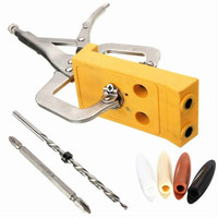 Pocket Hole Jig Woodwork Guide Repair Carpenter Kit Woodworking Tool