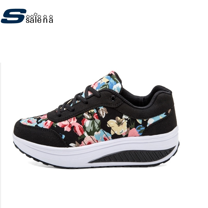 ФОТО Black Women Flats Light Weight New Design Women Casual Shoes Wearable Comfortable Ladies Working Shoes AA10129