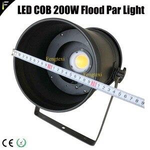 Image 3 - 2 adet aşağı ışık COB LED 200w yakınlaştırma spot 15 ~ 50 derece stüdyo ile Par LED Par56 siyah konut geleneksel projektör