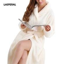 LASPERAL мягкая фланелевая Коралловая флисовая одежда для влюбленных мужчин и женщин, теплый супер длинный банный халат, мужское кимоно, халат, халаты
