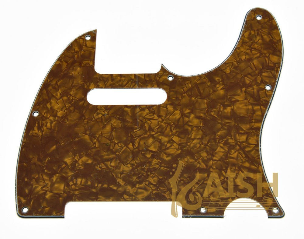 Gold Pearl Guitar Pick Guard Scratch Plate Fits TL Guitar