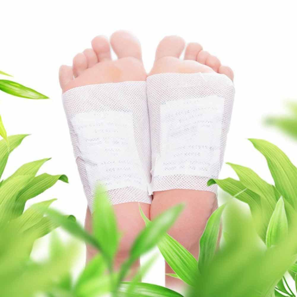10Pc Thailand LANNA traditionellen Leckerbissen Detoxify Toxins Adhesive Keeping Fit Organic Herbal Patches Foot Patch Pads 4