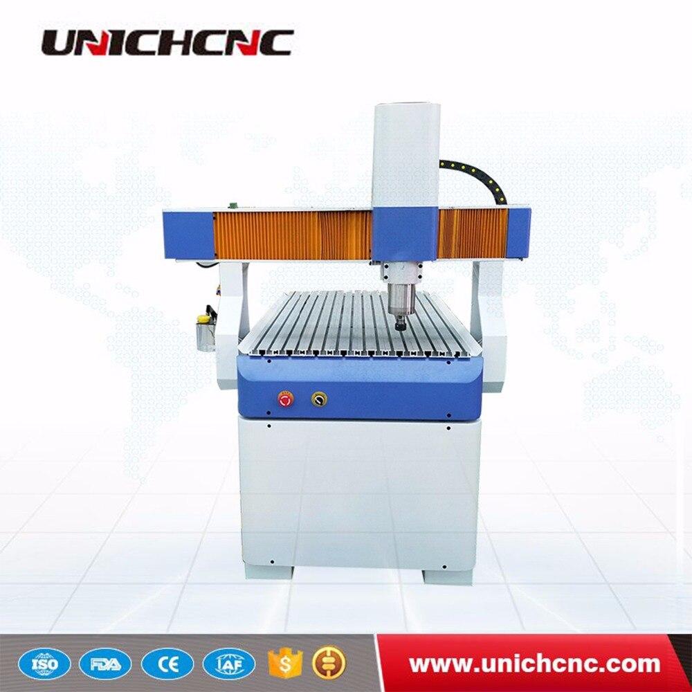 Approvisionnement d'usine petit mini 3d 600x900mm 0609 bois pierre CNC routeur machine graver sculpture mdf contreplaqué métal