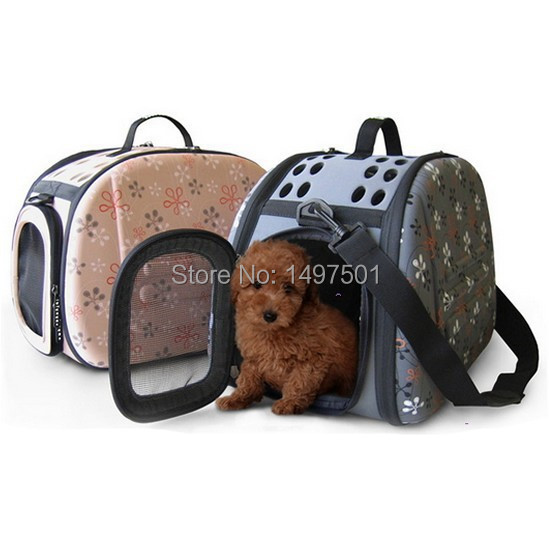 New Portable Foldable EVA Small Pets Dogs Cats Travel Bag Backpack Carrier Shoulder Bag Tote Handbag For Pets Within 7 KG