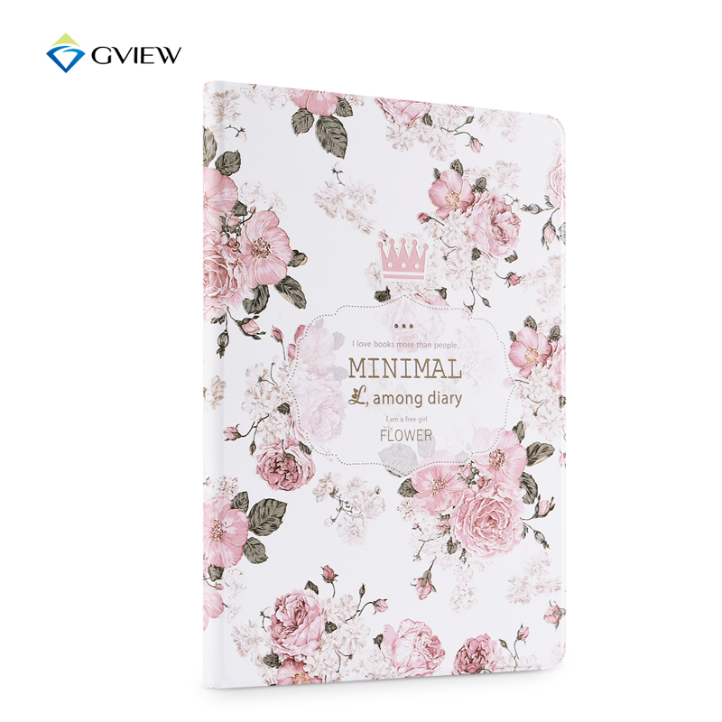 Gview Case For Ipad 2017 9.7 A1822 A1823 - 3d Embossed PU Leather Flip Cover Stand in Luxury Floral Fashion Style что на 10 копеек 1823 года цена