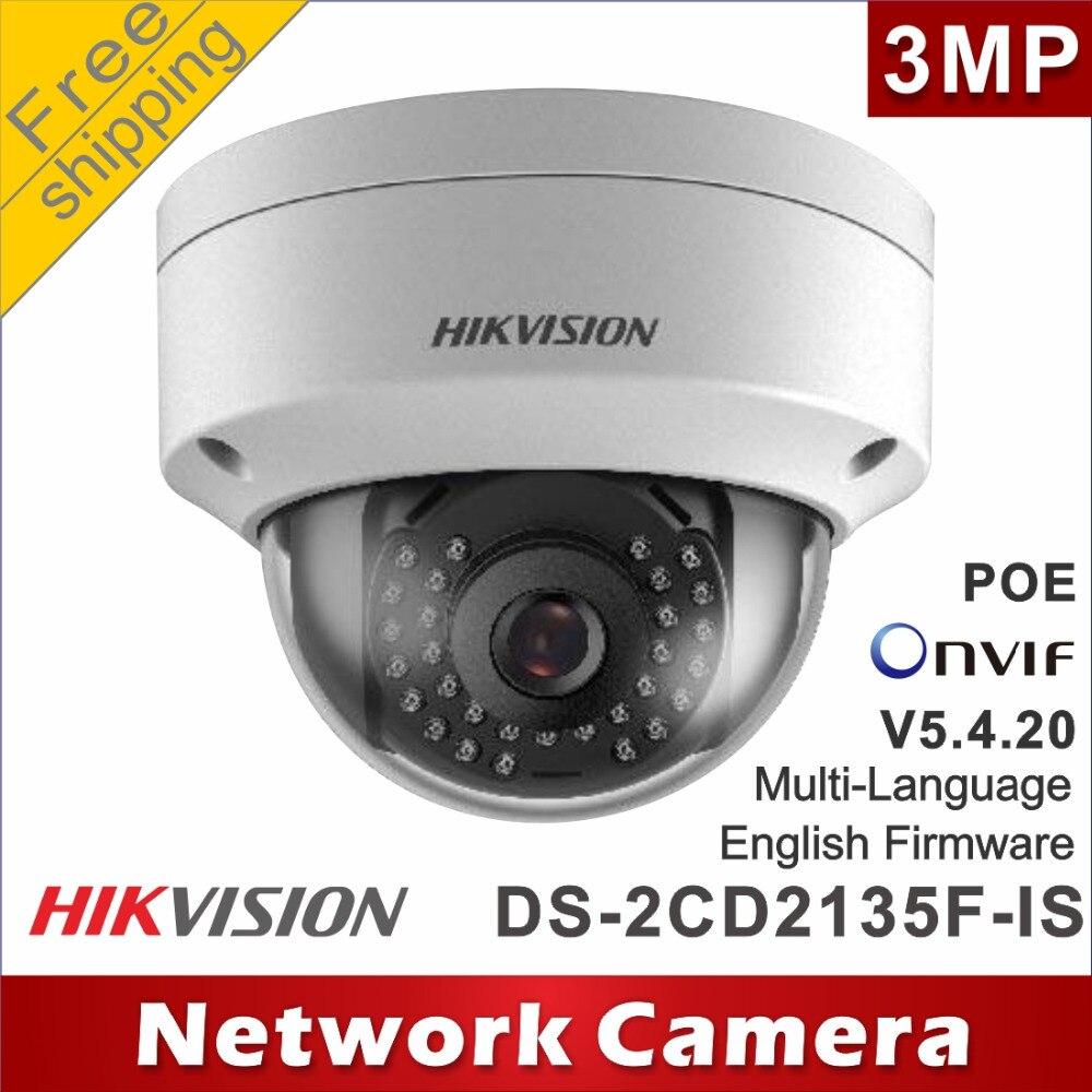 imágenes para Envío libre hikvision ds-2cd2135f-is reemplazar ds-2cd2132f-is y h265 ds-2cd2132-i poe cámaras ip de red domo ipc audio cctv