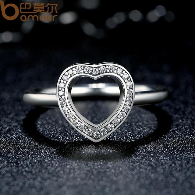 Silver Heart Be My Valentine Ring