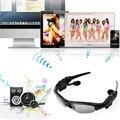 Auricular inalámbrico de auriculares bluetooth estéreo de música llamada de teléfono manos libres gafas de sol auriculares para iphone para samsung nuevo
