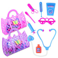 Children's Simulated Medical Tools Toys go home Simulated Medical Tool Handbag Medical equipment Doll accessories