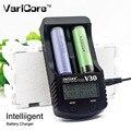 Varicore v30 lcd carregador de bateria 3.7 v 18650 26650 18500 16340 14500 18350 bateria de lítio 1.2 v aa/aaa as baterias nimh