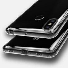 Voor Xiaomi Mi Max 3 Max3 Transparante Case Funda Xiaomi Mimax 3 Case Clear Silicon Tpu Cover Voor Xiaomi MiMax3 schokbestendig Case