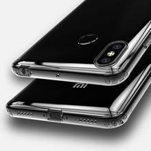 Прозрачный чехол для Xiaomi Mi Max 3 Max3, чехол для Xiaomi MiMax 3, прозрачный силиконовый чехол из ТПУ Для Xiaomi MiMax3, противоударный чехол