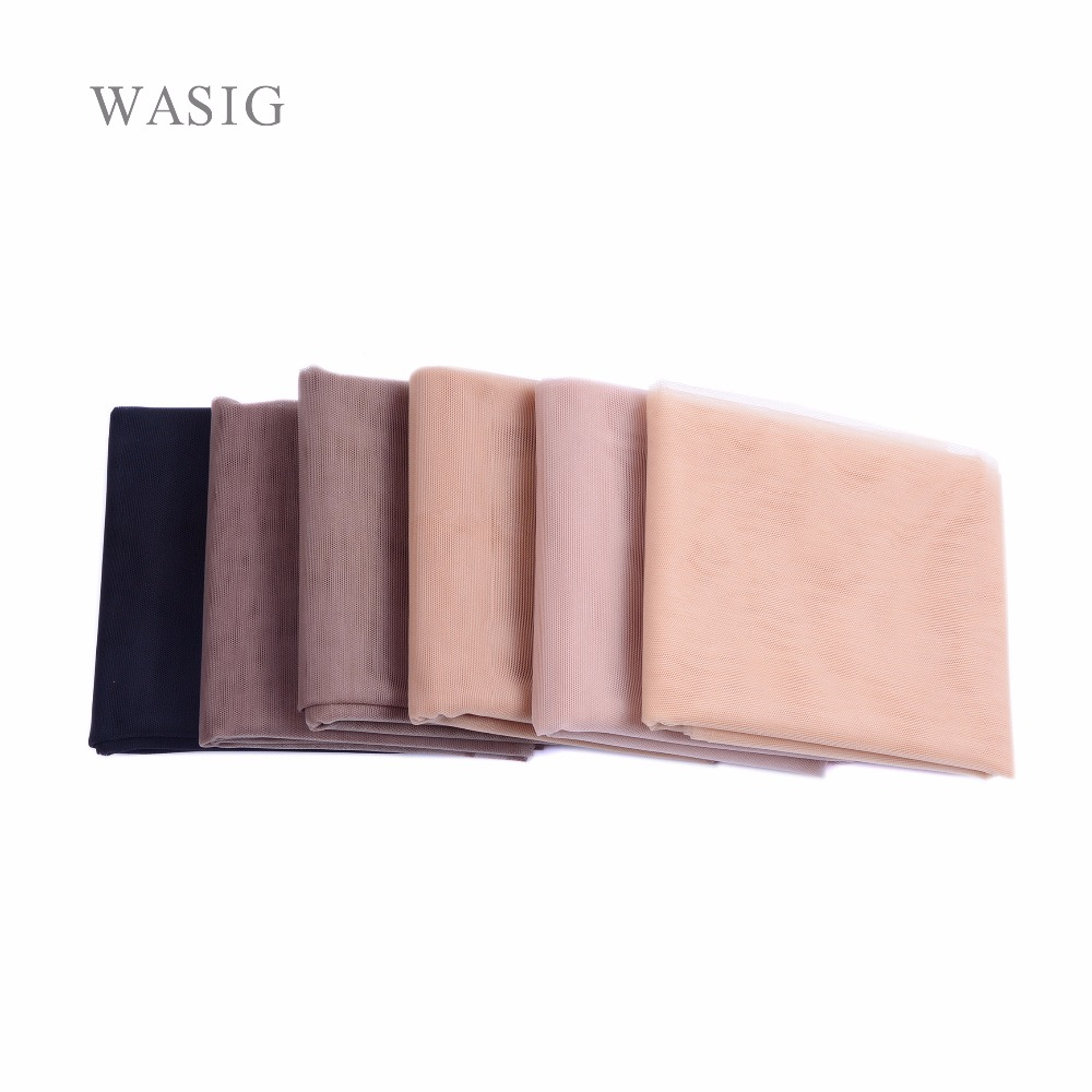 1/4 Yard Swiss Lace Net For Making Lace Wig Foundation Hairnet Accessories Weaving Tools Hair Net 6 Colors Available
