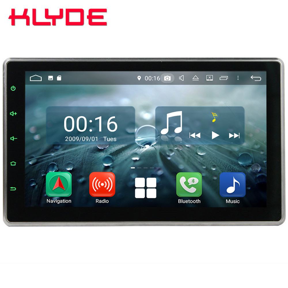 10.1 IPS Octa Core 4g Android 8.1 4 gb RAM 64 gb ROM RDS 2Din Rotative Écran Universel voiture DVD Multimédia Lecteur Radio Stéréo