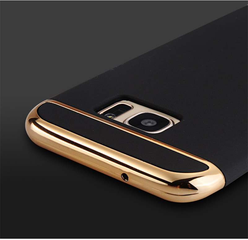 CONNICS Phone Case S7 S7 Edge for Women Men Electroplating Frame 3 in 1 Hard PC Back Cover For Samsung Galaxy S7  S7 Edge Cases (20)