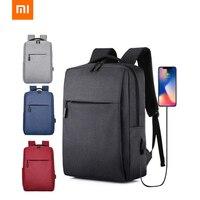 Xiao mi рюкзак для дрона mi зарядка через usb для мужчин и женщин бизнес 15 дюймов рюкзаки для ноутбука Подростковые Сумки мужские дорожные Водоне...