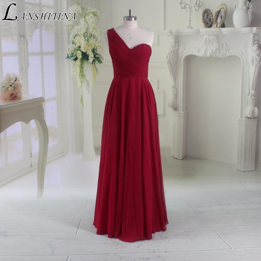 Buy New products listed Elegant Long Chiffon Bridesmaid Dresses 2017 Vestidos Wedding Party Dresses Long Vestido De Festa for $68.09 in AliExpress store