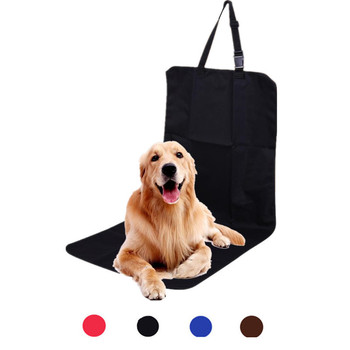 Universal Pet Car Seat Cover Protector Waterproof Oxford Non-slip Automobile Dog Chair Single Cushion Mat Pad Auto Accessories image