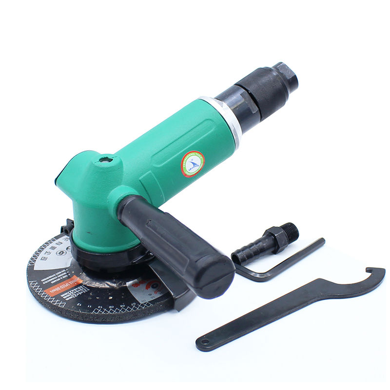 High Quality 5 Inches (125mm) Pneumatic Angle Grinder 110 Degree Air Grinder Machine Pneumatic Grinding Sander Tool 125MM 5inch this fall 125mm pneumatic sander disc sandpaper machine bd 0142