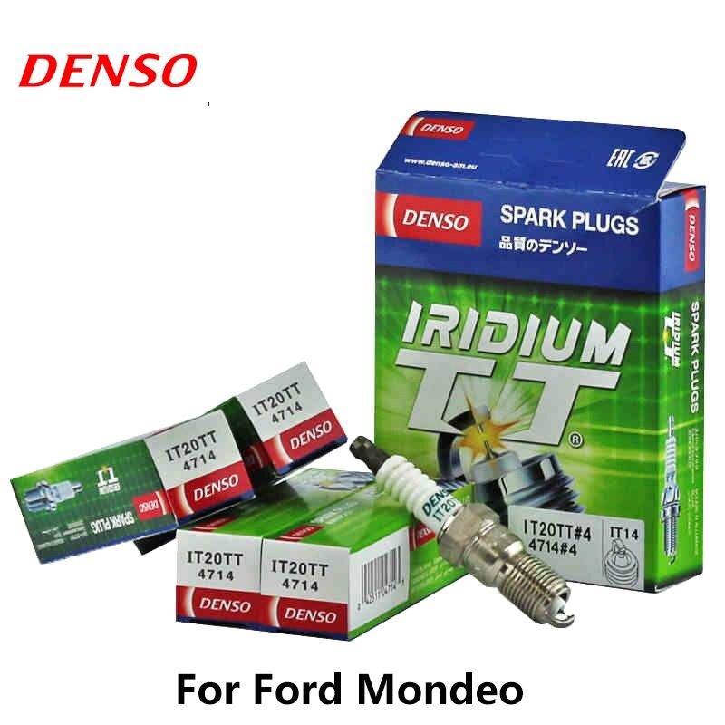 4pieces/set DENSO Car Spark Plug For Ford Focus1.8/2.0L Mondeo 2.0L 04-06Yr 2.5 Mazda6 04Yr Lotus L3 L5 Iridium Platinum IT20TT4pieces/set DENSO Car Spark Plug For Ford Focus1.8/2.0L Mondeo 2.0L 04-06Yr 2.5 Mazda6 04Yr Lotus L3 L5 Iridium Platinum IT20TT