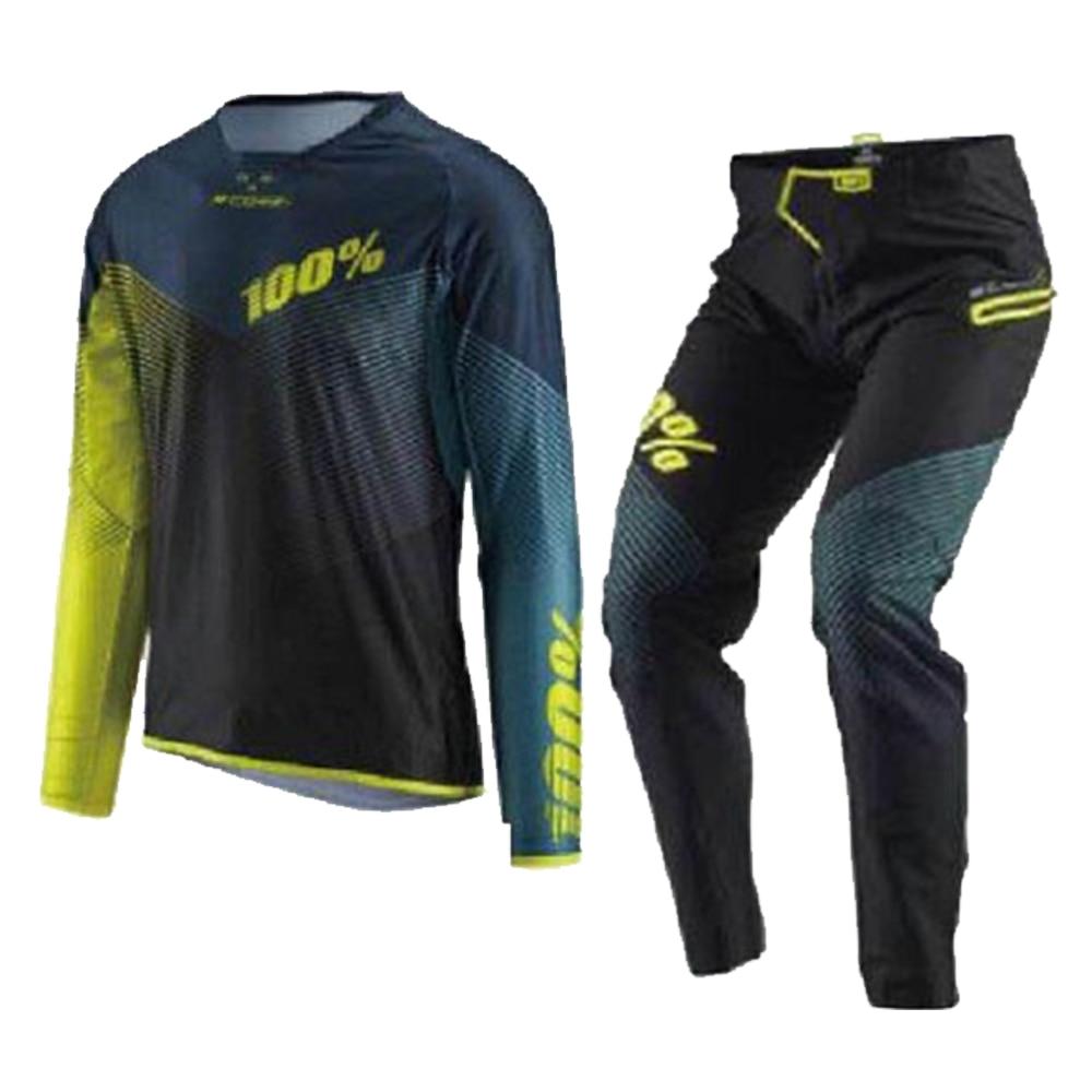 2018 COURSE Porter Mx Gear Set Jersey Pantalon Combo Motocross Dirt Bike Off-Road Racing Équitation