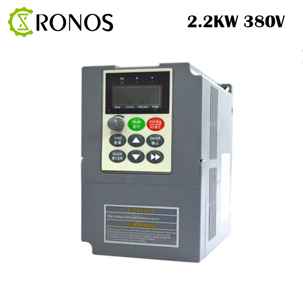 цена на 380V 2.2 KW 5.1A AC Variable Speed Drive/ Frequency Inverter/VFD/Ac Drive/Frequency Converter