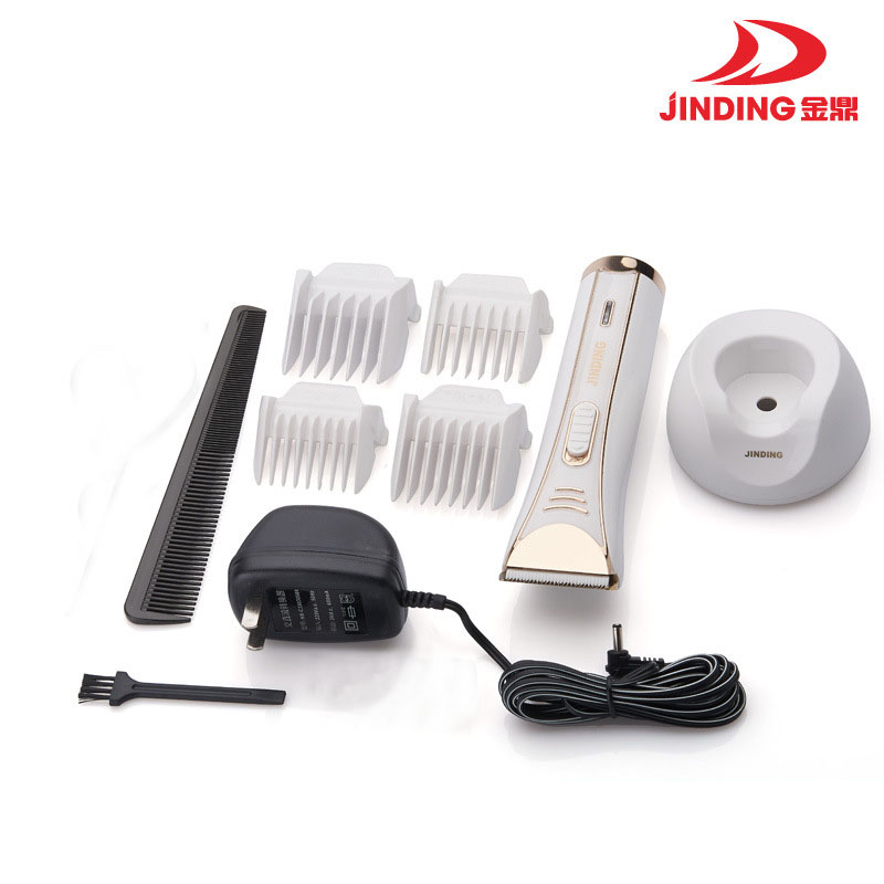 Jinding Professional Hair Clipper  Rechargeable Electric Hair Trimmer Hair Cutting Machine charging base 220-240V JD-8218 dingling ef607 rechargeable hair clipper trimmer w accessories set black orange ac 220