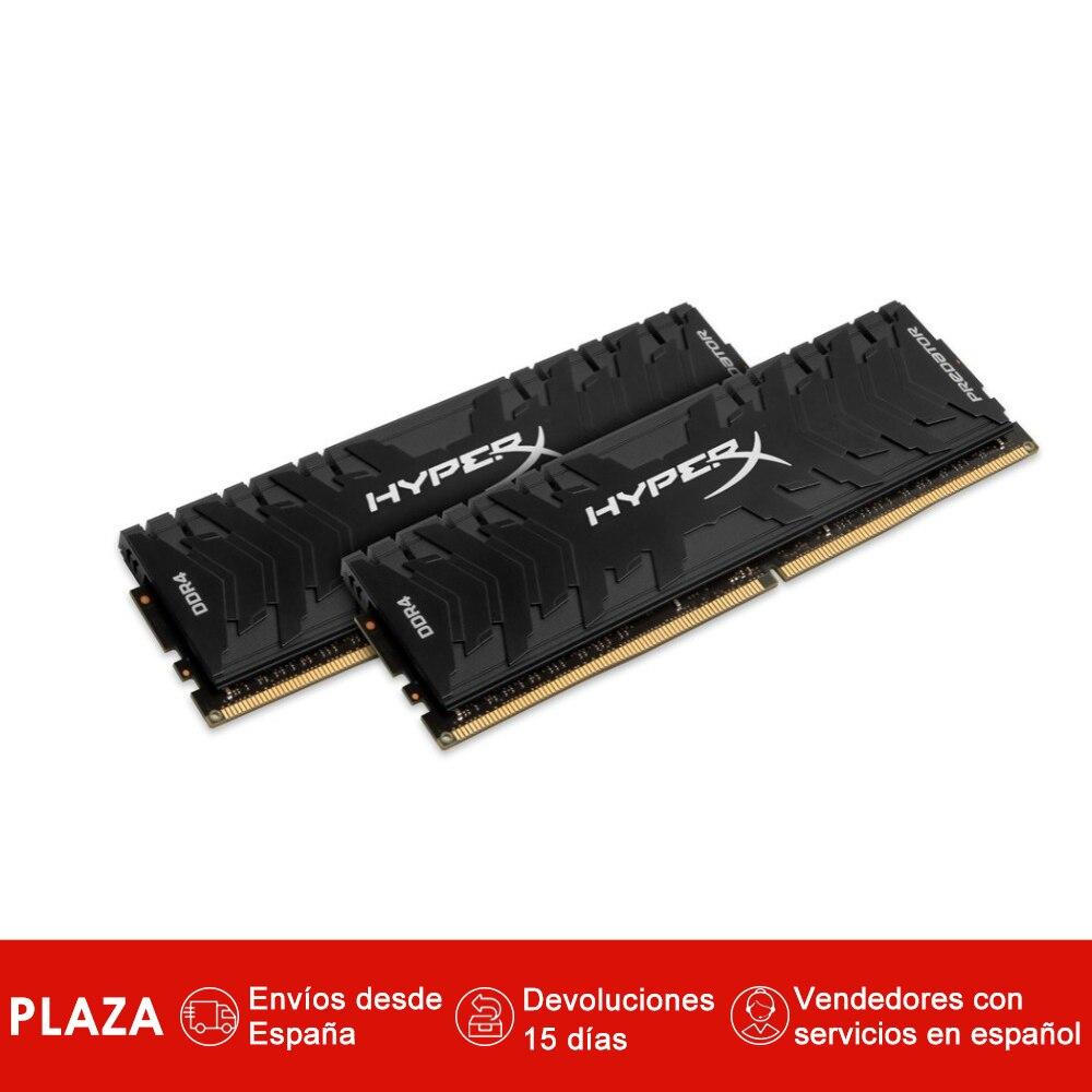 HyperX prédateur 8 GB 3000 MHz DDR4 Kit, 2x4 GB, nègre