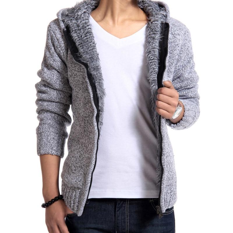 Fashion hoodies Winter warm plus velvet thick sweatshirts