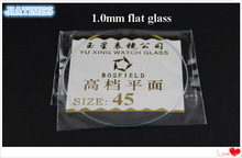 118 Pcs 1.0 Mm Dikke Platte Minerale Horloge Glas Selecteer Grootte Van 16 Mm Tot 45 Mm Voor Horlogemakers En horloge Reparatie