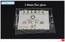 118pcs 1.0MM Thick Flat Mineral Watch Glass Select Size from 16mm to 45mm for Watchmakers and Watch Repair