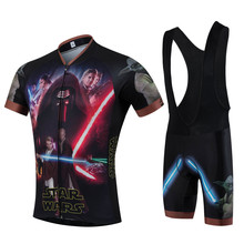 2016 ZM star wars Cool pro team cycling jersey short ropa ciclismo quick dry maillot mtb bike wear fluo cycling clothing sport