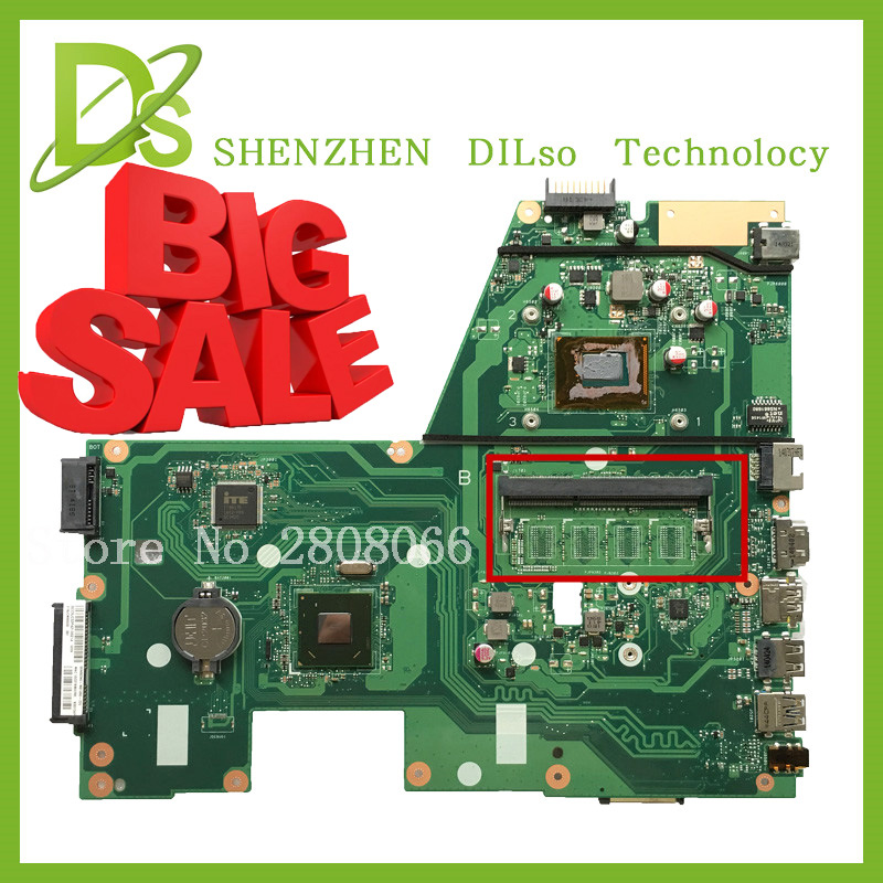 HOT!!! For ASUS X551CA Laptop motherboard X551CA mainboard REV2.2 1007u 100% tested new motherboard freeshipping brand new for lenovo b470 laptop motherboard 48 4kz01 021 mainboard