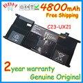 Подлинная НОВЫЙ C23-UX21 7.4 В 4800 мАч аккумулятор для ASUS ZenBook U21 UX21A UX21E Ultrabook Series батареи AKKU высокое качество