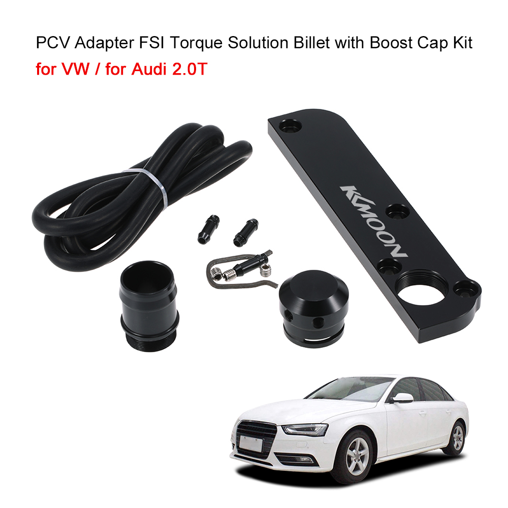 PCV Adapter FSI Torque Solution Billet with Boost Cap Kit for VW  for Audi 2.0T