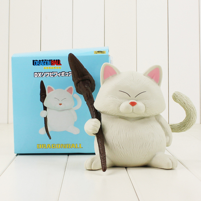14 Cm Dragon Ball Z Karin Sama Biały Kot Rysunek Toy Model Kawaii
