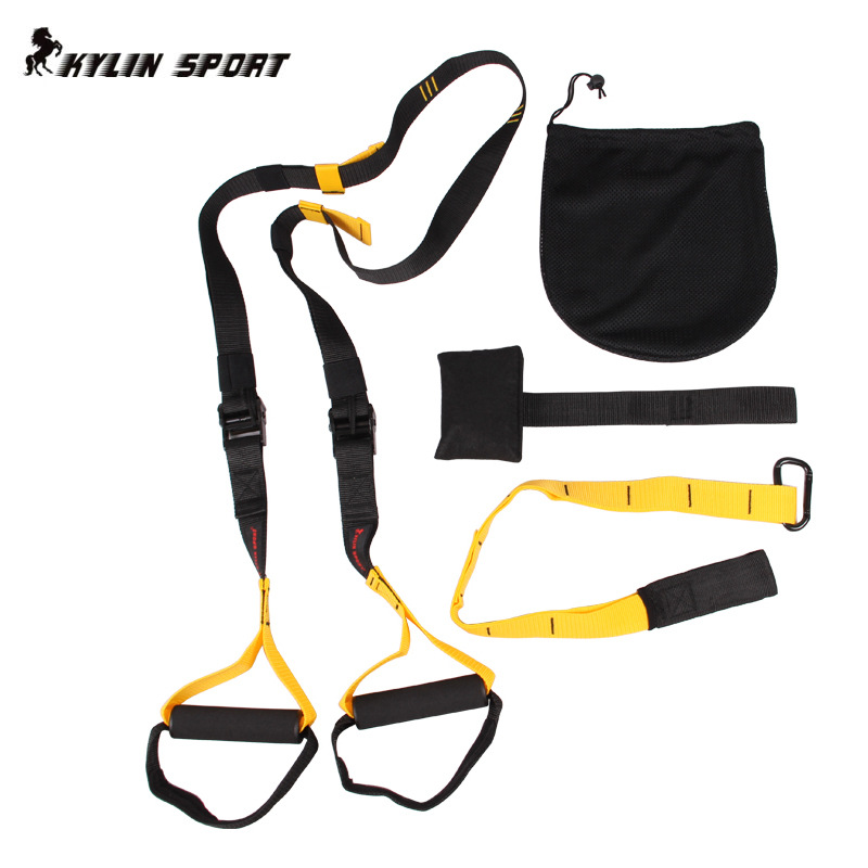 2018 TRip60X Hanging Training Strap Widerstandsbänder Professionelles Fitness-Zugseil Anti-Widerstands-Krafttraining Muskel