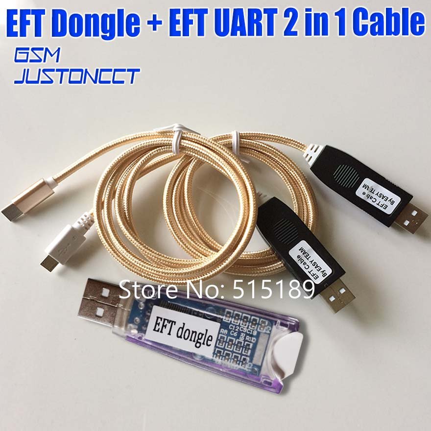 Newest 100% Original EASY FIRMWARE TEMA / EFT DONGLE + EFT Cable UART 2 in 1Newest 100% Original EASY FIRMWARE TEMA / EFT DONGLE + EFT Cable UART 2 in 1