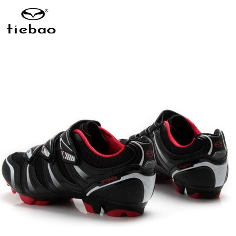 Купить с кэшбэком Tiebao Cycling Shoes men Sneakers add SPD pedals Professional MTB Mountain Bike Athletic Shoes Self-Locking Riding Bicycle Shoes