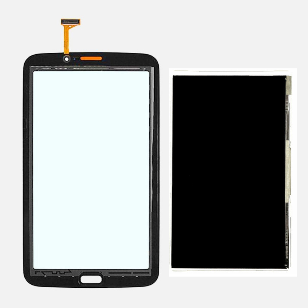 LCD Display Monitor Screen Panel + Touch Screen Sensor Panel Glass Digitizer For Samsung Galaxy Tab 3 7.0 T211 SM-T211 free shipping touch screen with lcd display glass panel f501407vb f501407vd for china clone s5 i9600 sm g900f g900 smartphone
