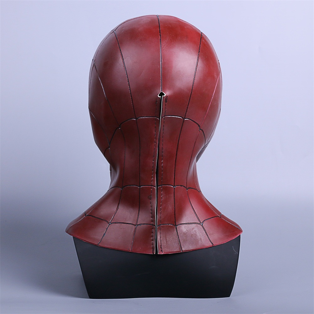 2018 Avengers 3 Infinity War Spiderman Mask Cosplay Iron Spiderman 3D Latex Mask (6)