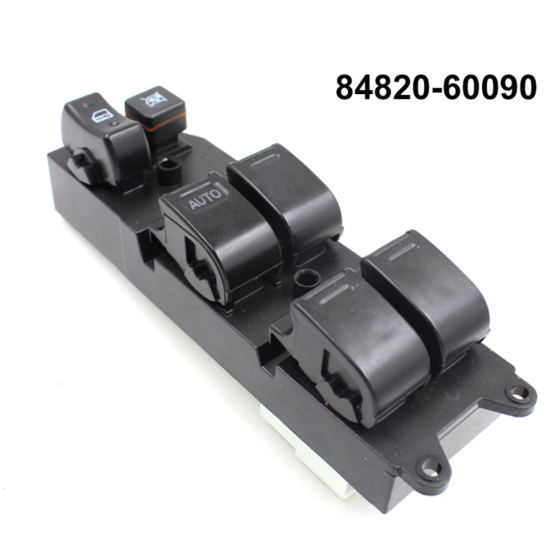 YAOPEI Power Window Master Control Switch 84820-60090 8482060090 For Toyota Echo Yaris Camry Picnic 4Runner Hilux TUV new power window switch for toyota avensis 84820 05100 8482005100 driver side window control switch