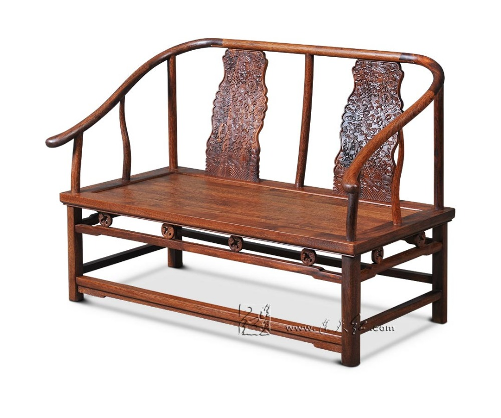 compare prices on chinese rosewood chair online shopping buy low neoclassical rosewood furniture living dining room leisure double chair chinese royal solid wood armchair retro annatto