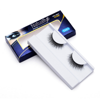 Women S Fashion High Quality False Eyelash 3D 1 Pair Real Mink Naturally Eyelash For Makeup