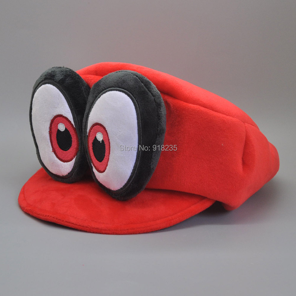 10/Lot Super Mario Bros Odyssey Cappy Cosplay Hut Tasse Plüsch Puppe Stofftiere-in Filme und TV aus Spielzeug und Hobbys bei  Gruppe 3