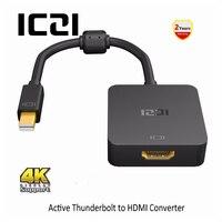 ICZI Thunderbolt Mini DP To HDMI Adapter 4K 60Hz Mini Displayport 1 2 To HDMI 2