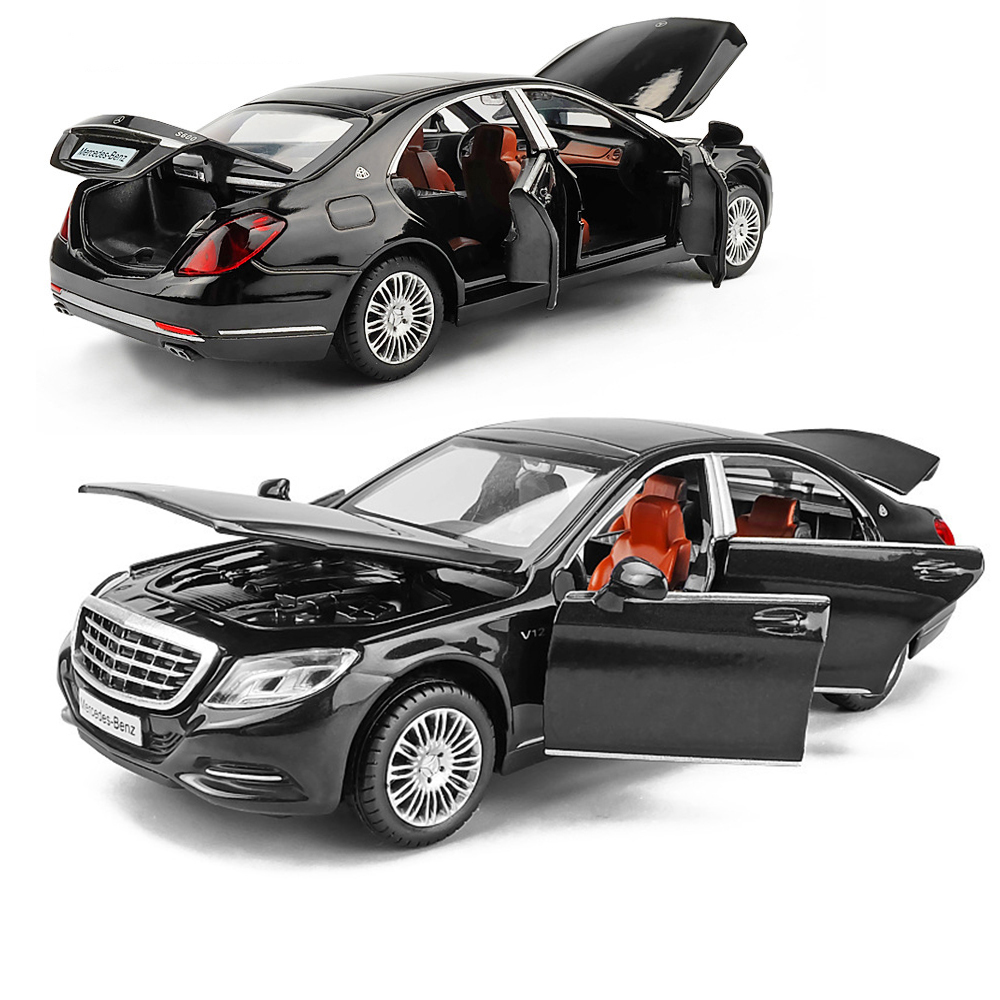 1:32 Maybach S600 Machine Diecasts Toy Vehicles Hot Wheel Car Model With Car Hot Wheel Doors Can Be Opened Toy