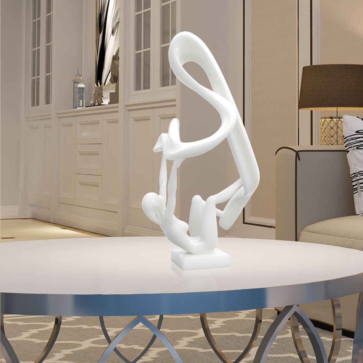 Originally Designed Flutter Design Human Body Woman Figurine Sculpture Resin Modern Home Decor Furnishing Ornaments In Statues Sculptures