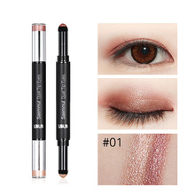 2 in 1 Eyeshadow Pencil Waterproof Shimmer Makeup Eye Shadow